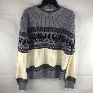Vintage Harwood & Pine Deer Sweater S/M